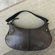 WOMENS TULA BROWN LEATHER SMALL HANDBAG SHOULDER BAG UNDER ARM RADLEY