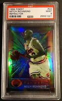 1994 MITCH RICHMOND FINEST REFRACTOR #22 PSA 9 KINGS  POP 1  (715)