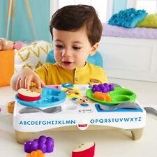 Fisher Price Tavolino delle Buone Maniere con Giochi Suoni Lettere e Accessori