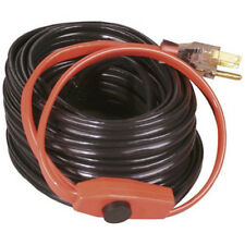 Electric Water Pipe Heat Cable Hose 80 FEET Metal Pipes Heating Tape Thermostat