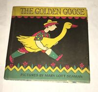 The Golden Goose Mary Lott Seaman Macmillan 1928 Rare w/ Dust Jacket Art Deco