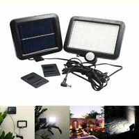 Luz del sensor de movimiento de energia solar al aire libre 56LED Lampara d V1X7