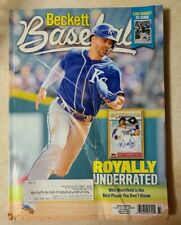 Beckett Baseball October 2020 Whit Merrifield  Kansas City Royals