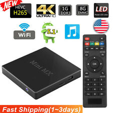 Android 5.1 Smart TV BOX Mini Dual Core HDMI Media Player 4K 3D Movies Films US
