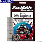 FastEddy Bearings 268 5x11x4 Rubber Sealed Bearing MR115-2RS 10 Units