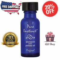 Pure Instinct Infused Essential Oil Perfume Cologne Unisex Attract Men and Women