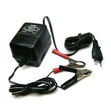 Caricabatterie per batterie al piombo AGM tensione di 2V, 6V e 12V uscita 600mA