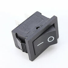 1Pcs 2Pin Snap-in On Off Rocker Switch Control Black