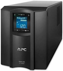 APC SMC1000i Tower UPS - New in box - New Batteries - 12 Month RTB warranty