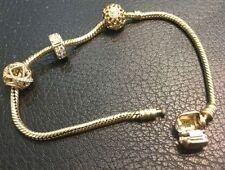 PANDORA Diamond Yellow Gold Fine Jewellery