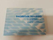 Manuales de reparación y servicios NX Honda