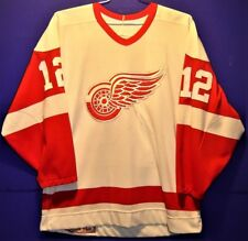 DETROIT RED WINGS JIMMY CARSON WHITE #12 AIRKNIT JERSEY