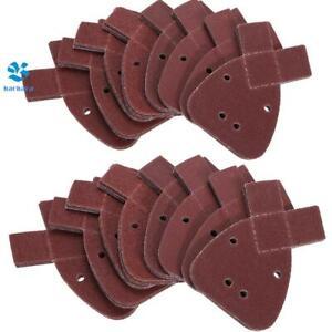 Mouse Sanding Sheets 40-800 Grit Black and Decker Pads Discs Detail 10x 140mm