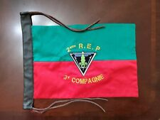 French 2nd Rep Foreign Legion French 3rd Companie Flag/Guidon