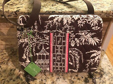Vera Bradley Mini Laptop Case Imperial Toile NWT Tablet iPad Shoulder Bag