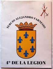 Tercio Alejandro Farnesio 4º de la Legión. Colección de 12 láminas