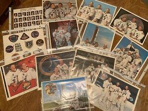 39 Vintage NASA Photographs of Apollo Manned Missions 1-11
