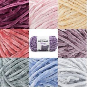 [BUY 10 GET 25% OFF] Bernat Velvet 300g Yarn, chunky weight extra lustre