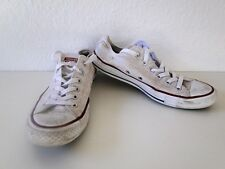 Converse All Star Chucks Sneaker Turnschuhe Slim Low Stoff Weiß Gr. 6 / 39