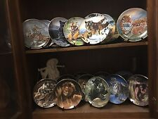 23 Piece Franklins Mint Limited Edition Collector Cat Plate w/ stands