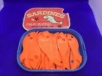 Vintage Sardines fishy puzzle old school fun