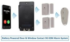 Covert Battery Powered Silent 3G GSM UltraDIAL Alarm with 2 x Magnetic Contacts