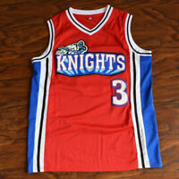 MASMIG Calvin Cambridge #3 Knights Basketball Jersey Stitched Red Like Mike