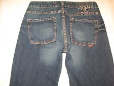 1921 Womens Bootcut Jeans Sz 28 -fits like a Sz 26  100% Cotton Dark