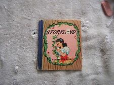 Storyland Pied Piper Books 1947