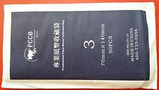 PCCB High Quality Paper Money Tools OPP Sleeves Bag 70mm x 140mm ( Size 3 )