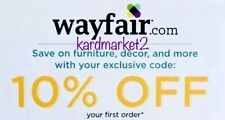 ⚡️FASTEST CODE⚡️WAYFAIR.com — 10% OFF First Order — Exp. 8/31/20