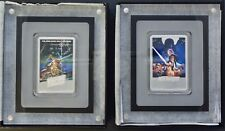 TWO Star Wars Poster 1 oz. Silver Coins: Empire Strikes Back AND Return of Jedi