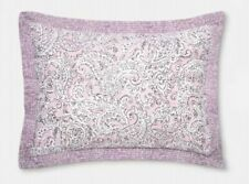 Opalhouse Violet (Purple) Quilted Paisley Standard Pillow Sham