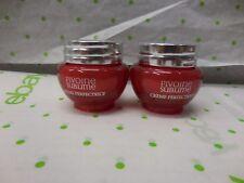 2 X  L'Occitane Pivoine SUBLINE Perfecting Cream 8ml/.028 Oz EACH NEW SEALED