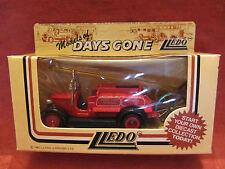 LLEDO  Days-Gone  1934 Dennis  Fire Engine  Red  #12008  Ware  NIB  (9)