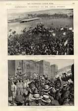 1897 Cape Town Farewell Cecil Rhodes Louis Xv Boudoir Grand Piano