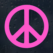 Magenta Peace Sign Car Or Laptop Decal Vinyl Sticker For Window Panel Bumper
