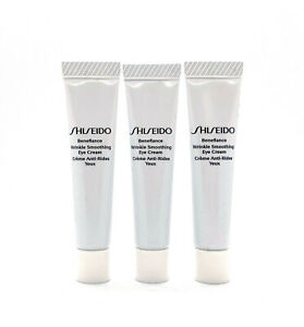 3 x Shiseido Benefiance Wrinkle Smoothing Eye Cream Travel Size 5ml =Total 15ml