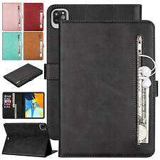 For iPad Mini 1 / 2 / 3 / 4 / 5 Case Smart Leather Card Pocket Stand Flip Cover