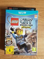 Nintendo Wii U Lego City Undercover Limited Edition With Chase Mini Figure Game