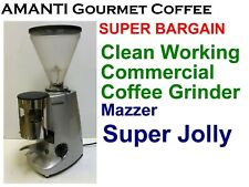 BARGAIN Mazzer Super Jolly Auto Commercial Coffee Grinder + Bonus AMANTI Coffee