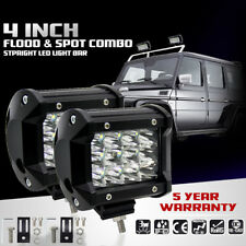 4INCH 36W 12 LEDs Work Light Bar Spot Beam for Offroad JEEP 4WD Boat ATV SUV Fog