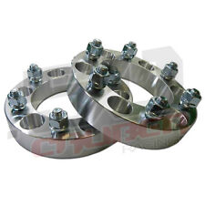 "Pair 5x5 127 Wheel Spacers 1"" Thick 1/2 Lug Buick LeSabre Cadillac Chevy C10 2wd"