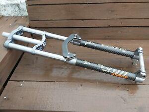 vintage Pace RC150 Monster carbon DH fork, retro boxxer sts lobo m952 era