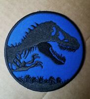 Jurassic World Jurassic Park Blue Uniform/Costume Patch 3 inches wide
