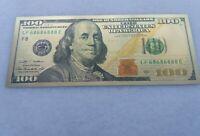 Billete Oro 24K Replica 100$ serie  1929 Edicion 2009. Laminado  AUTENTICO.