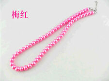 Lady summer fashion jewelry charm Colorful gorgeous pearl clavicle necklace gift