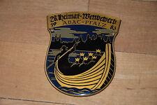 !! ADAC 28. Heimat-Wettbewerb Pfalz 1983, Badge, Plakette, Kühler !!