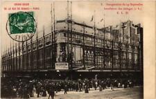 CPA PARIS (6e) Grand Bazar de la Rue de Rennes. 5. Installation etages (535573)