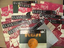 """Elvis Presley. 18 number 1's box set. 10"""" Vinyl singles"""